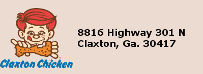 Claxton Poultry Address
